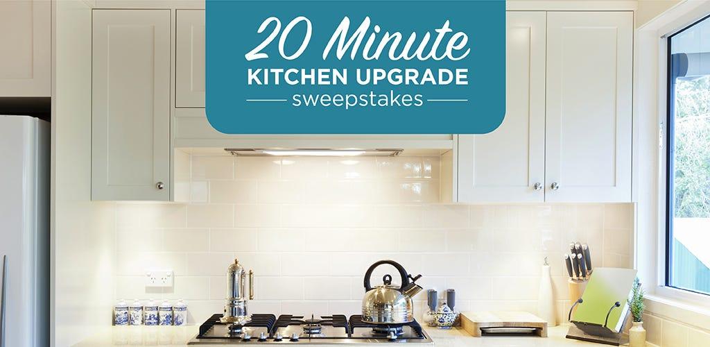 20 min kitchen banner