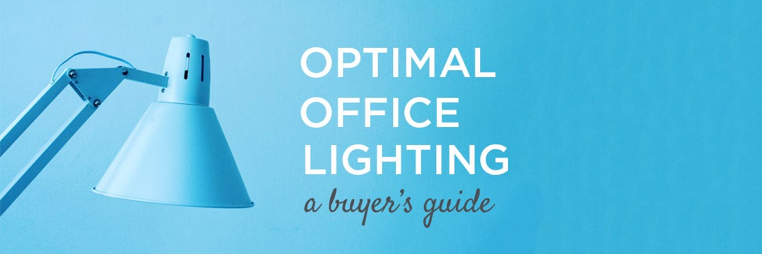 optimal office lighting banner