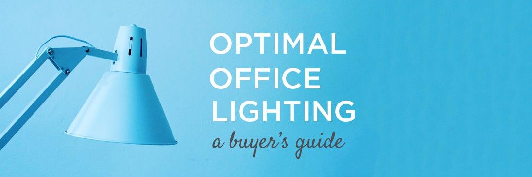 optimal office lighting banner