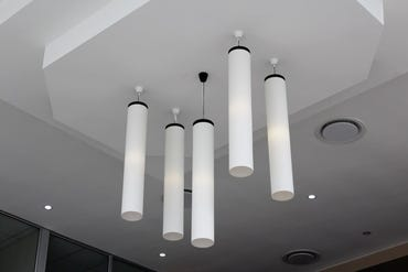 overhead light fixtures