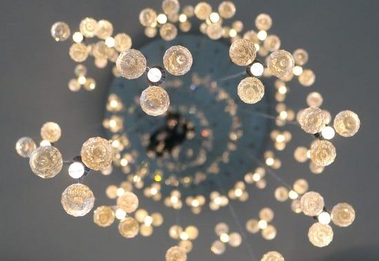 stylish chandelier