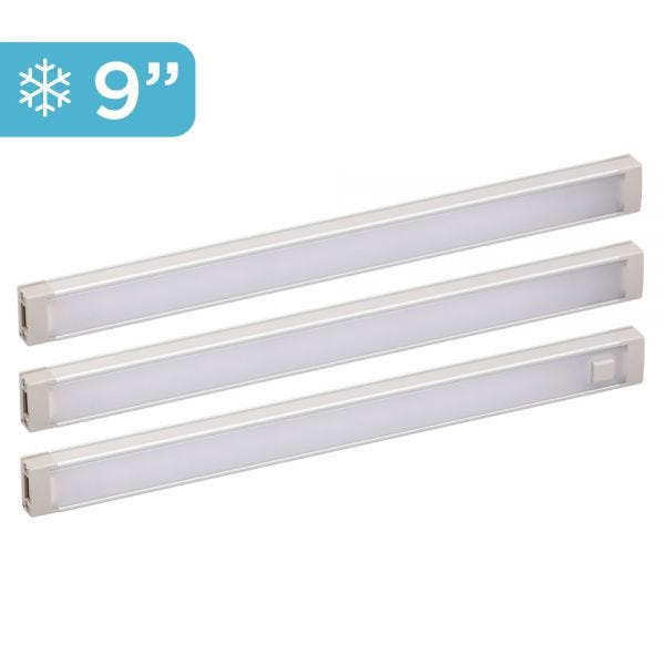 3-Bar Cool White Under Cabinet Lighting Kit