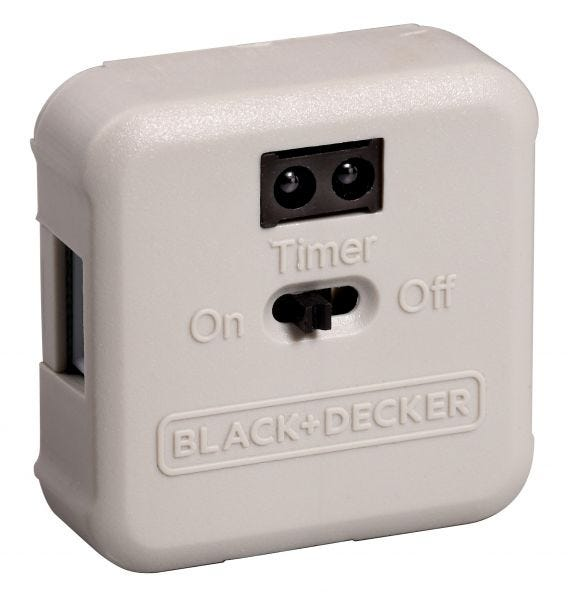 Motion Sensor Control Box for Under Cabinet Lighting by Black and Decker with PureOptics Technology