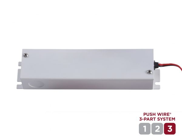 Push Connect Under Cabinet Light 48W Direct Wire Power Kit is Part 3 of the System