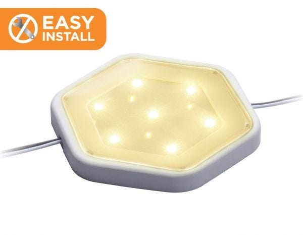 Easy Install Add-On Light for Under Cabinet Puck Lighting Kits