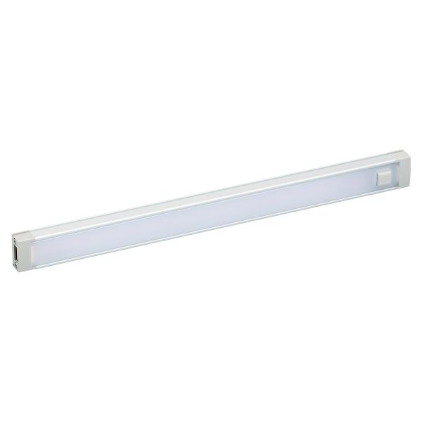 "9"" warm white 2700 Kelvin LED under cabinet light bar without any wires"