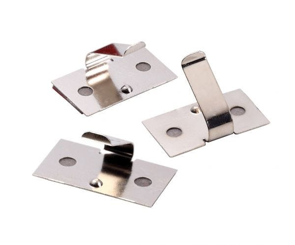 Adhesive Wire Clips