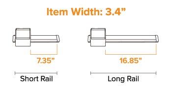 Folder Size on Rail