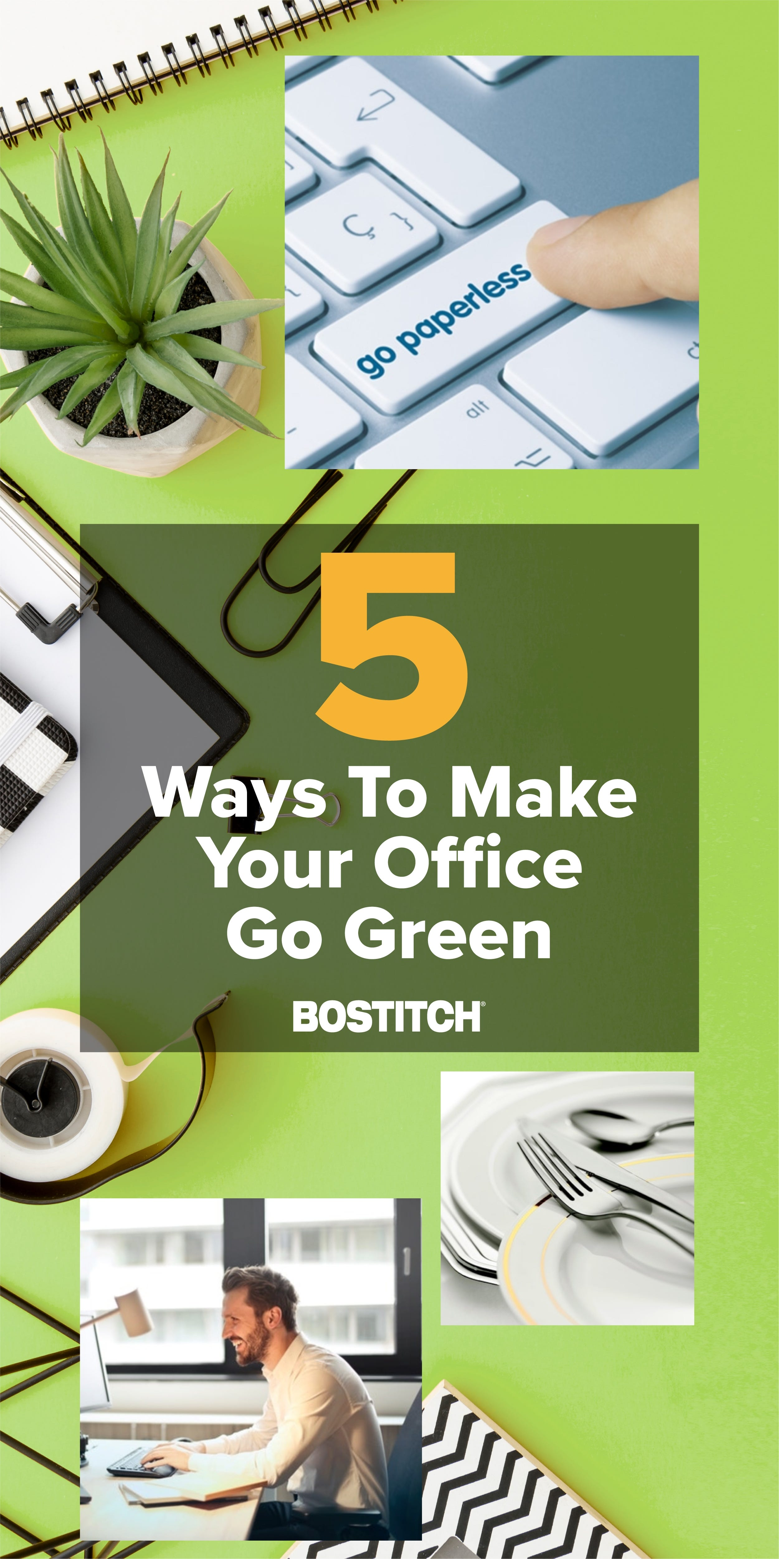 5 Easy Ways to Make Your Office Green