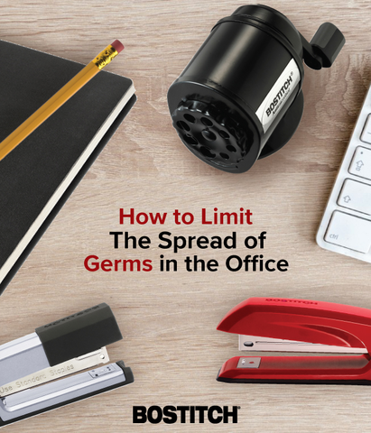 How to Limit the Spread of Germs in the Office