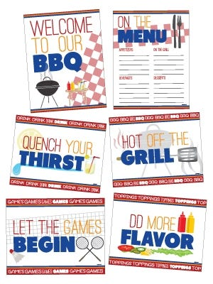 BBQ Party Pack