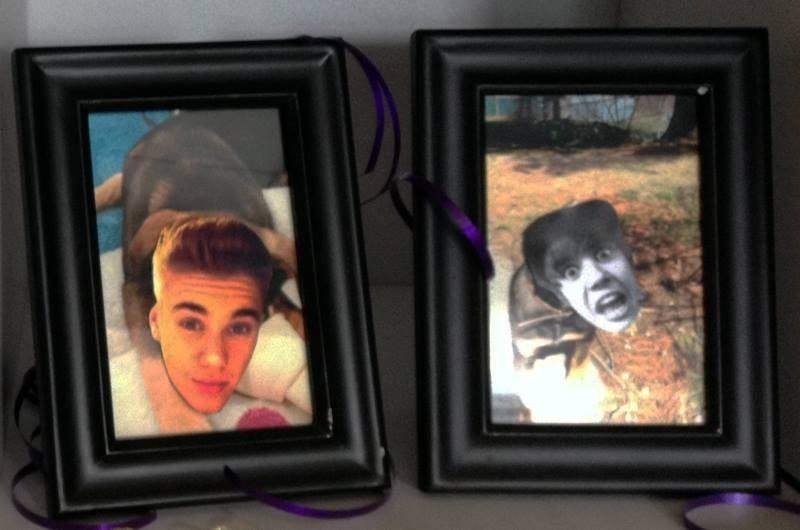 Justin Bieber Photo Swap Prank