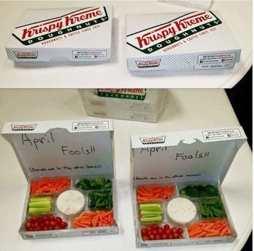 Fake Donuts Prank