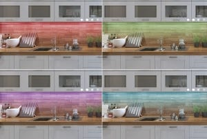 Tool-Free Under Cabinet Lighting Kit with 16 Million Colors