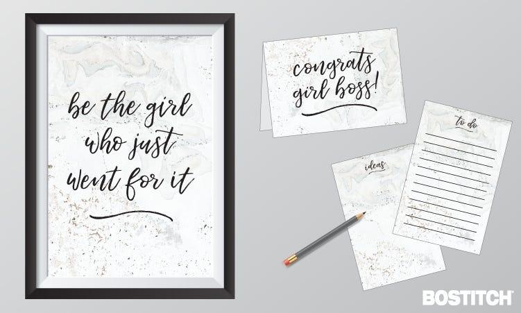 Girl Boss Printables