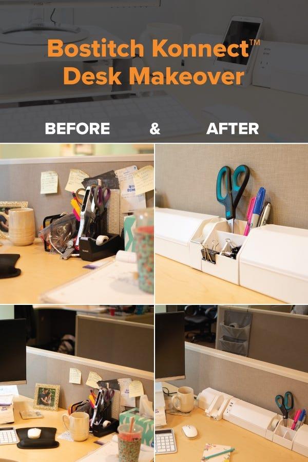 Bostitch Konnect Desk Makeovers