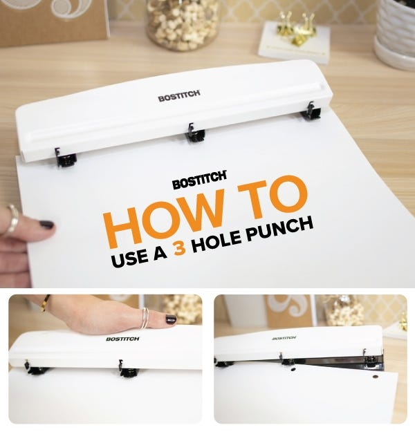 How to Use a 3 Hole Punch