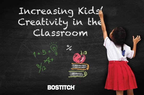 Increasing Kids' Creativity in the Classroom