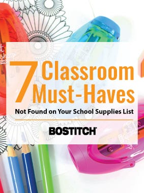 Classroom Must-Haves