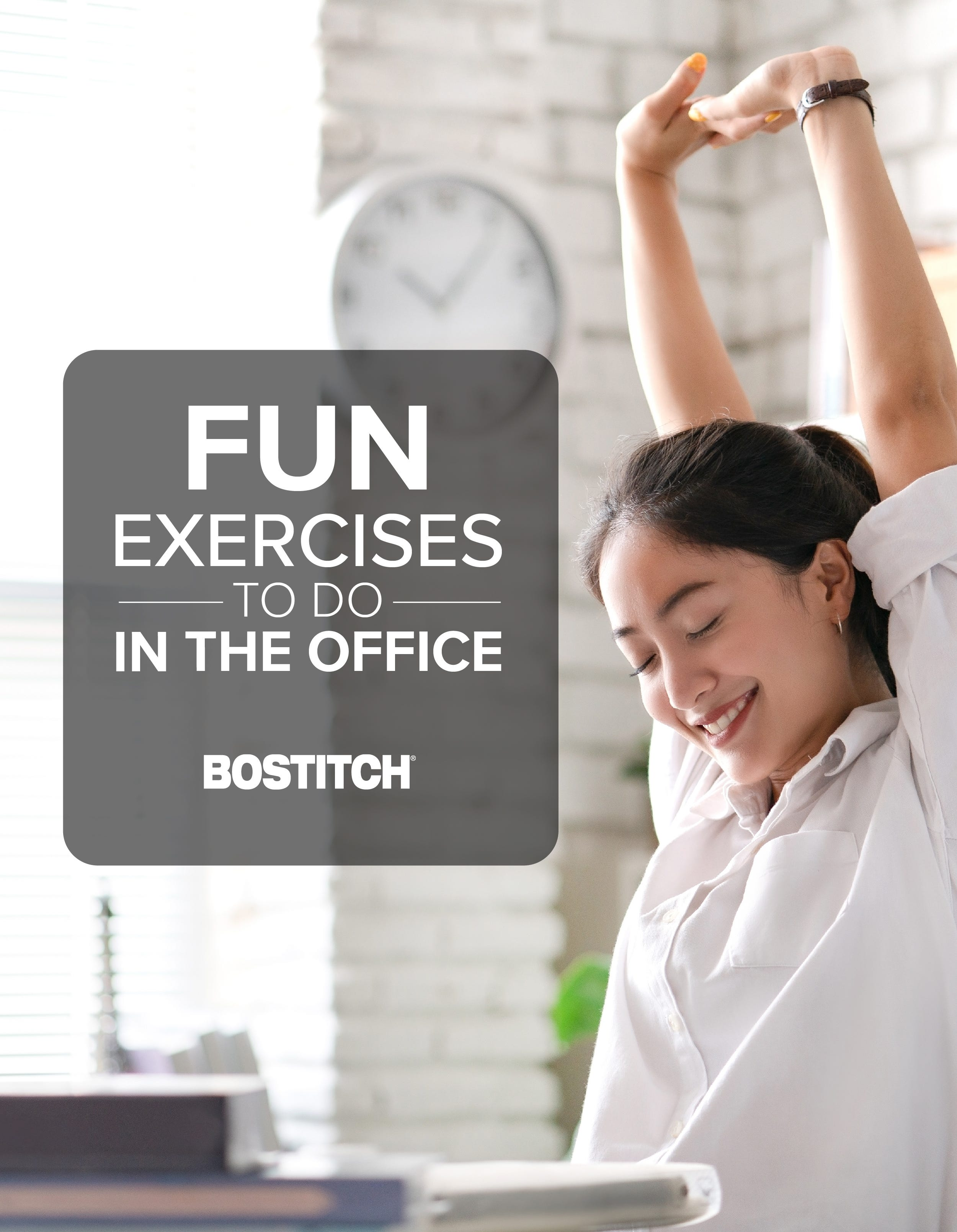 Fun Exercises to Do in the Office Pinterest