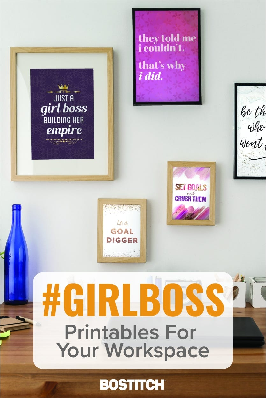 Girl Boss Printables Pinterest