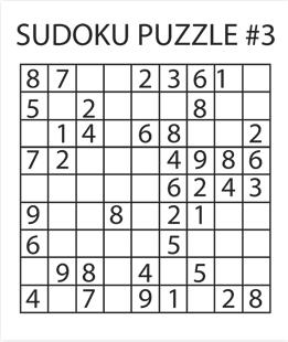 Sudoku Puzzle #3