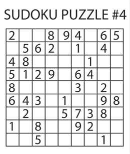 Sudoku Puzzle #4