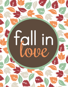 Fall in Love Wall Art