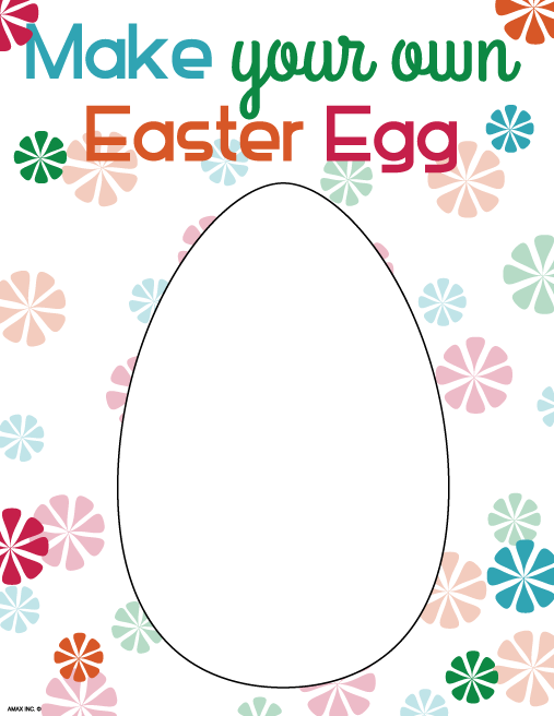 Printable Easter Egg