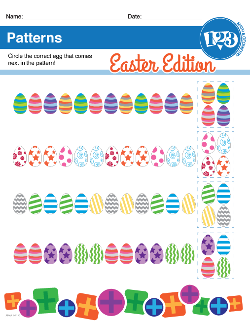 Printable Easter Egg Patterns