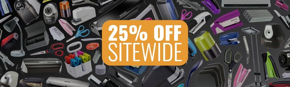 25% Off Sitewide Sale for Teacher Appreciation Week