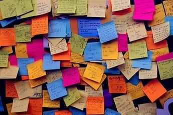 Sticky Note Memos