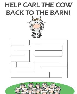 Carl the Cow Maze