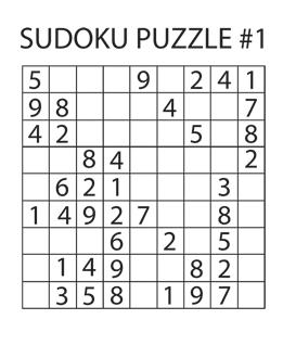 Sudoku Puzzle #1