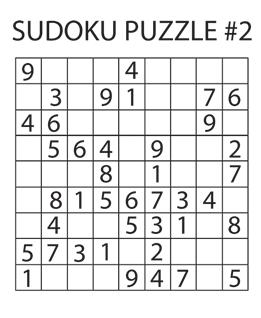 Sudoku Puzzle #2