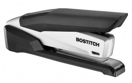 Spring powered stapler