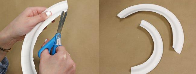 Cutting paper plate 2