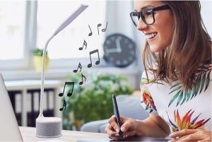 Bluetooth Speaker LED Desk Lamp