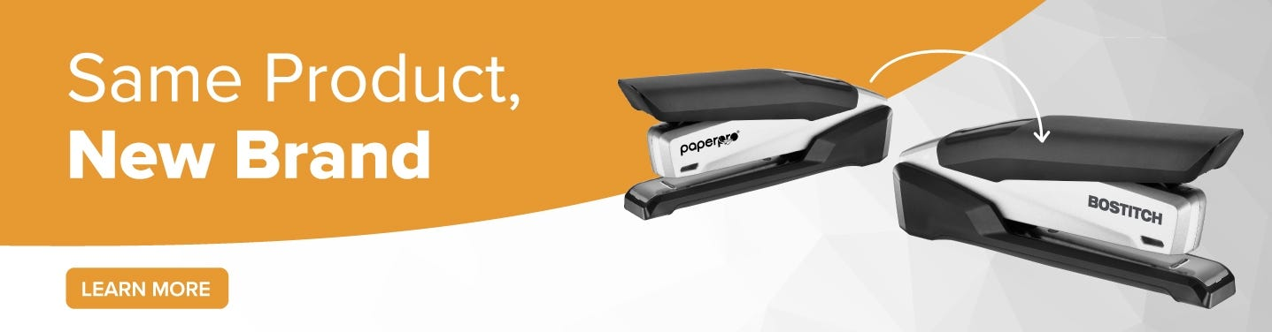 This PaperPro Product is Now Bostitch