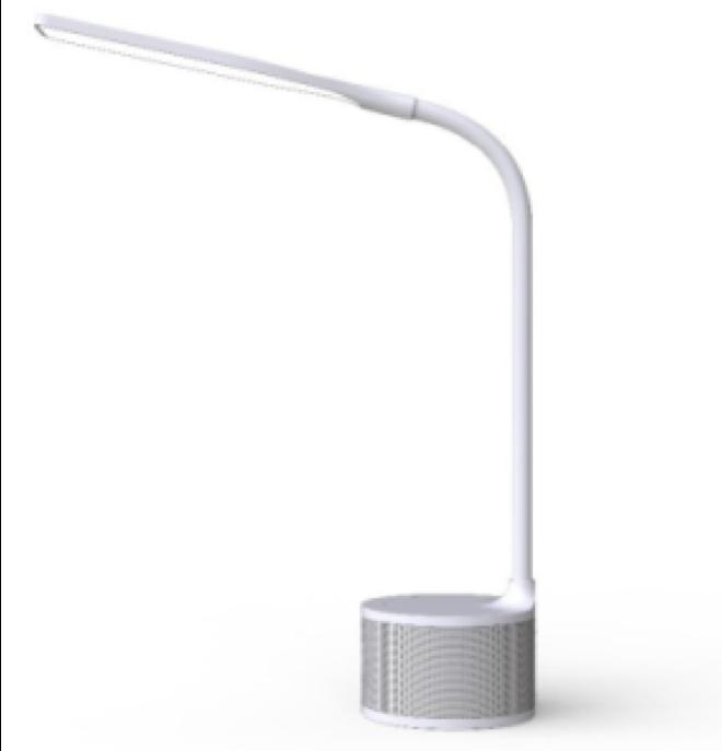 Speaker Desk Lamp